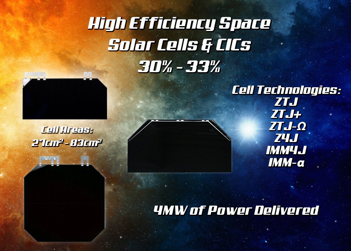 SPACE SOLAR CELLS / CICS